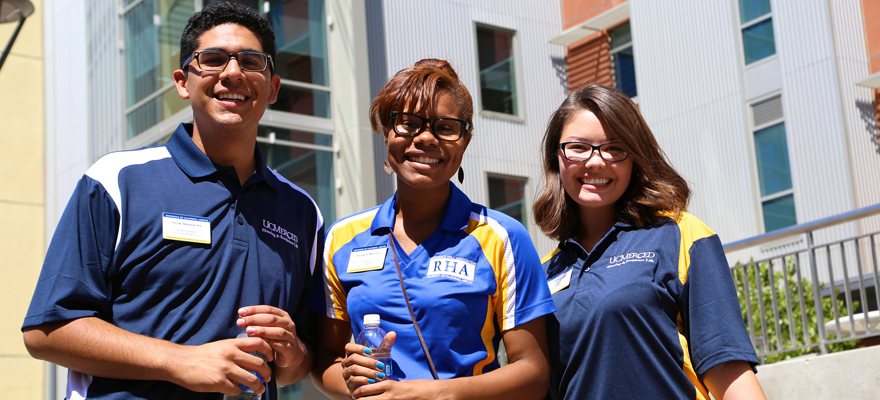 UC Merced staff welcome students